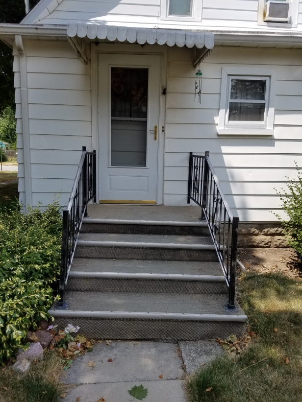 Old porch needing replaced